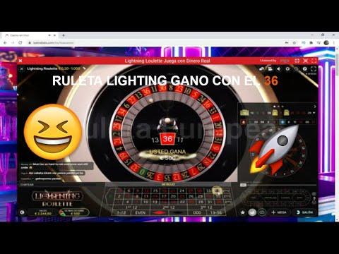 🆕 Juego en la RULETA LIGHTING para ganar el multiplicador y el 36 me da 500€ 😊