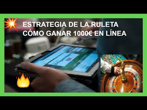 Cómo GANAR €1000 en línea desde CASA en la RULETA 2021 🥇 SISTEMA para GANAR de Verdad!!!
