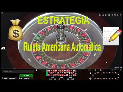 Cómo GANAR en la RULETA Americana Automática / 50 U$D a 920 U$D 🆕 (FUNCIONA)🤑