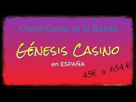 GENESIS CASINO en ESPAÑA / Cómo Jugar en la Ruleta Europea 🎰 45€ a 654€